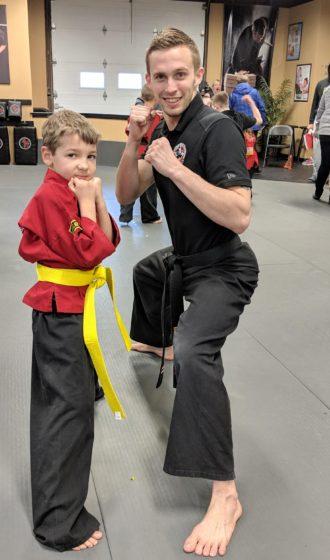 A Karate Kids Yellow Belt