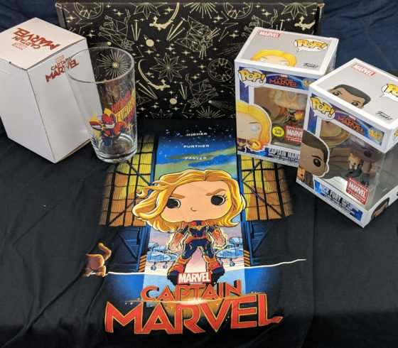 Marvel Collector Corps Captain Marvel