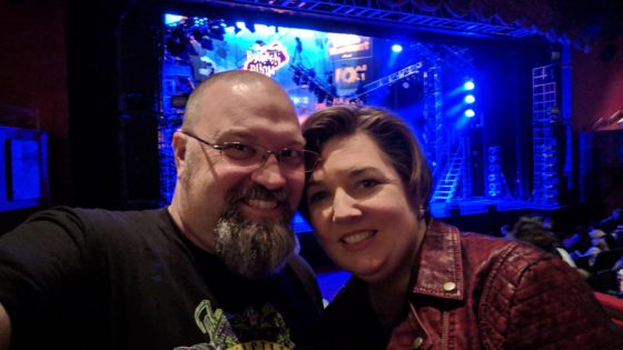 With Allison at Rock of Ages
