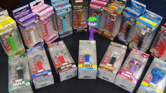 Pop Pez Collection