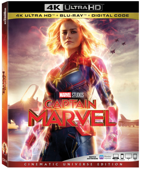 Captain Marvel Movie in 4K
