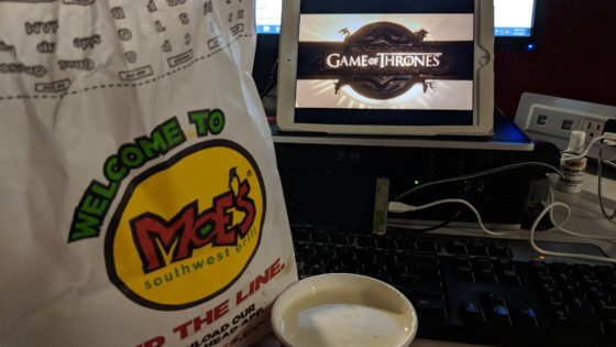Chips and Game of Thrones