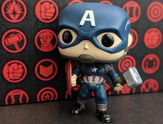 Captain America Pop