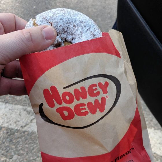 Honey Dew Donut