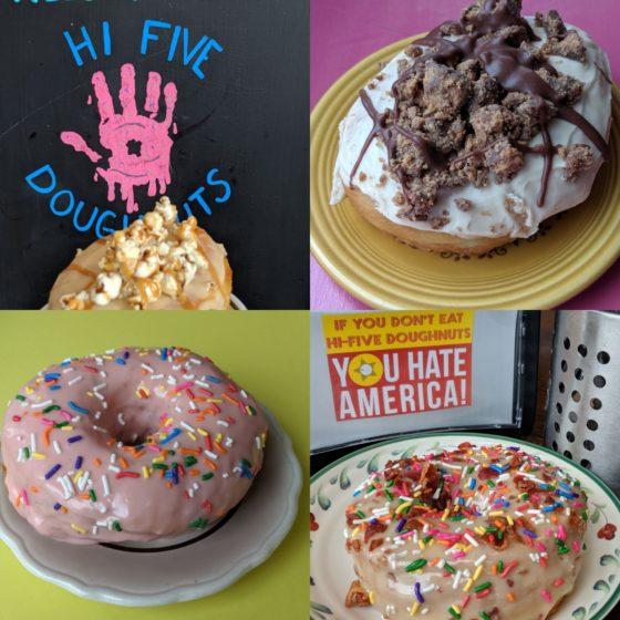 Our Hi-Five Doughnuts