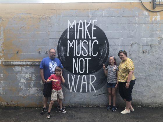 Music not War