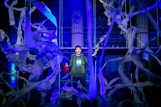 Chris McCarrell as Percy Jackson Photo: Jeremy Daniel