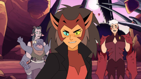 Catra and Scorpia