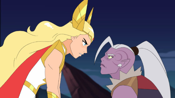 She-Ra and Huntara