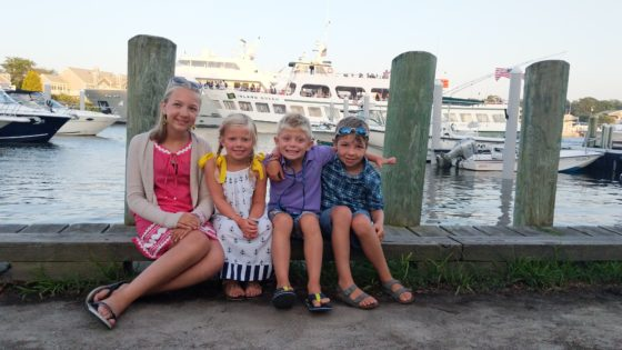 Kids with the Island Queen