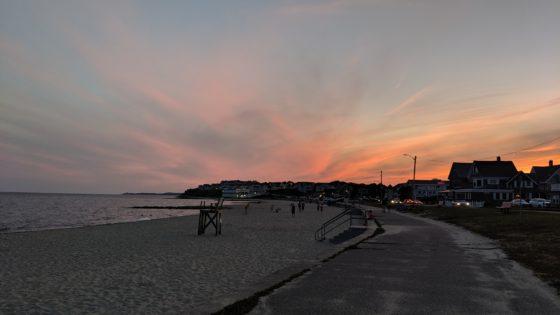 After Dinner Beach Walk