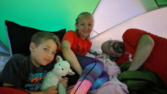 Back Yard Camp Out