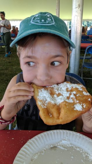 Breakfast of Fried Dough