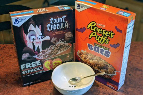 Halloween Cereals