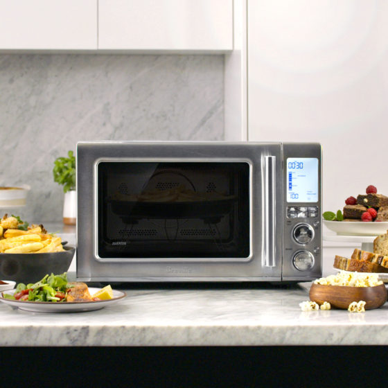 Save Space And Get Many Cooking Options With The Breville