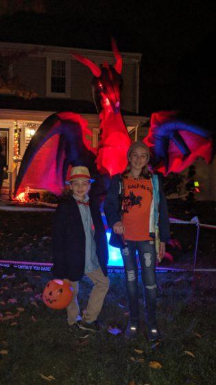 Dragon Photo Halloween