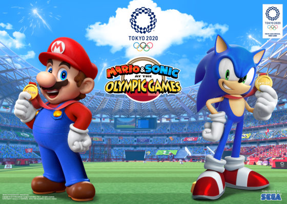 Mario and Sonic - Olympic Games 2020