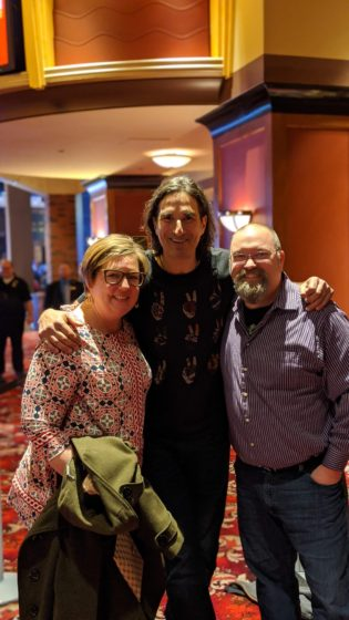 with Gary Gulman