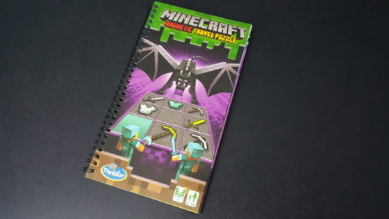 Minecraft Magnetic Travel Puzzle cover