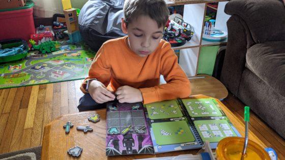 Andrew Solving Minecraft Puzzle